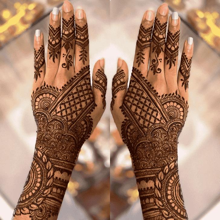 Appealing Faridabad Henna Design