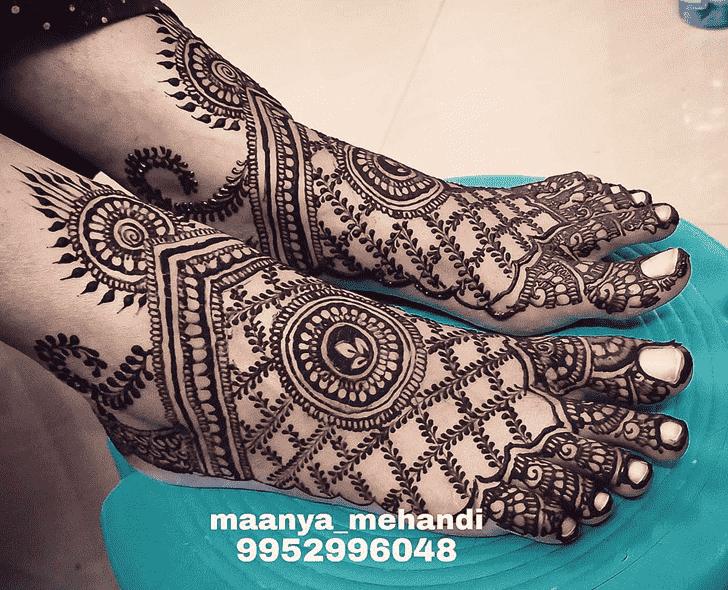 Classy Faridabad Henna Design