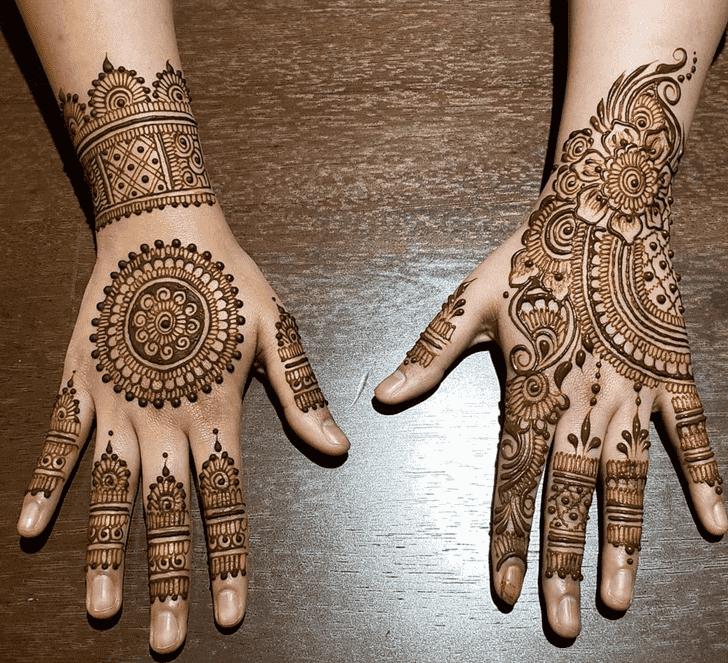 Adorable Florida Henna Design