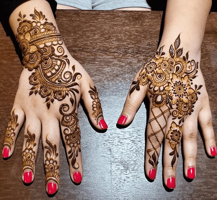 Alluring Florida Henna Design