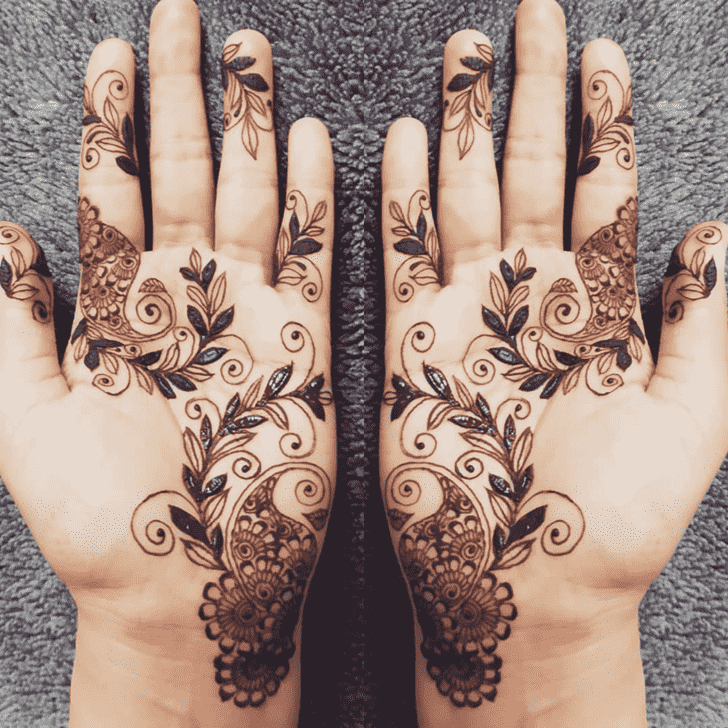 Angelic Florida Henna Design