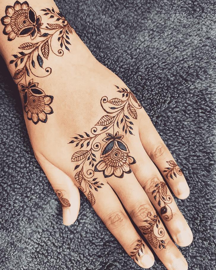 Captivating Florida Henna Design
