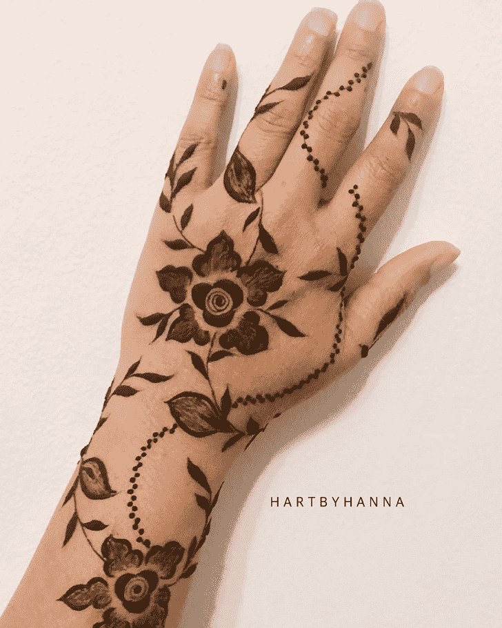 Flower Flower Henna design