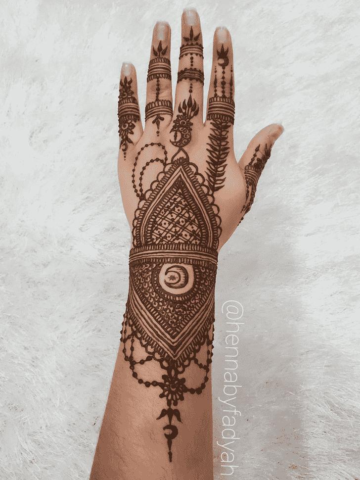 Excellent Flower Henna design