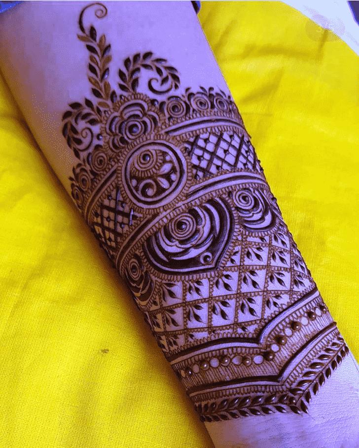 Alluring Friends Henna Design