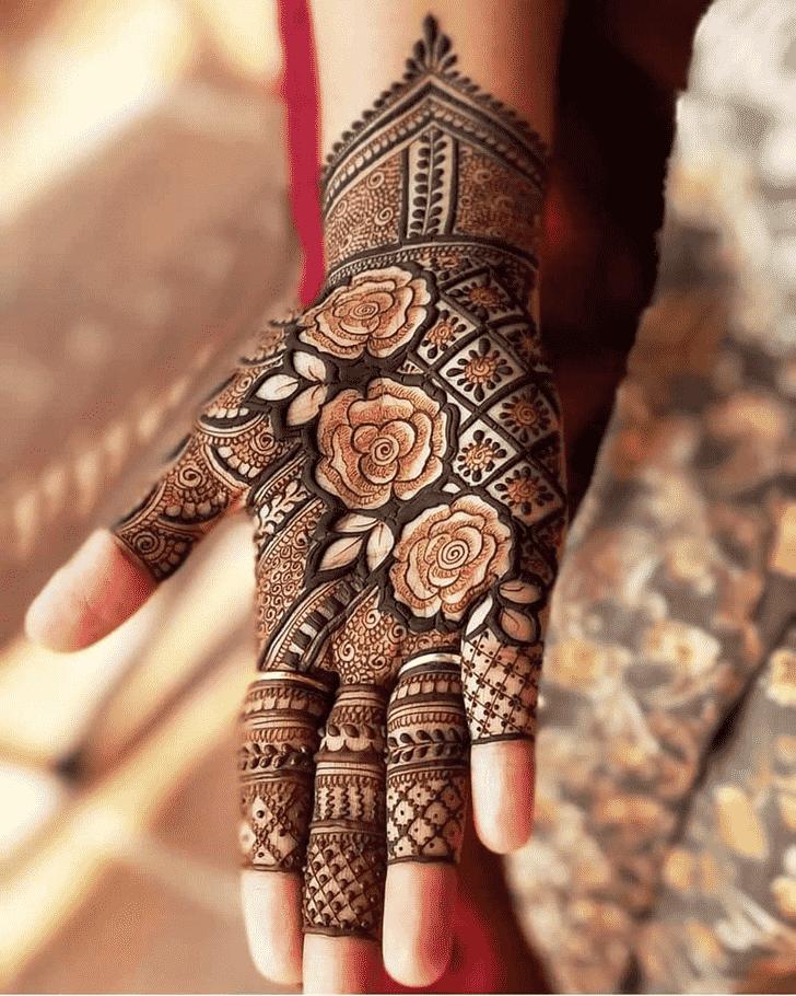 Bewitching Friends Henna Design