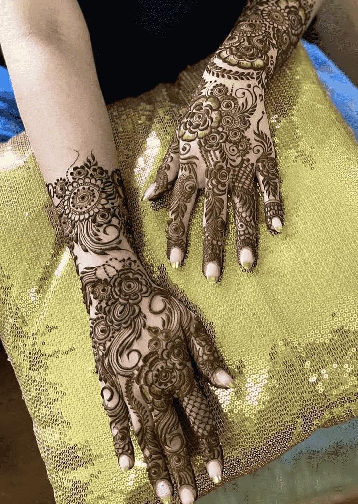 Captivating Friends Henna Design