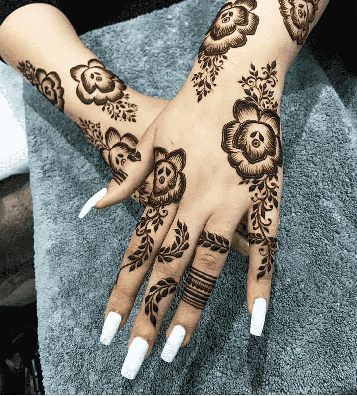 Delightful Friends Henna Design