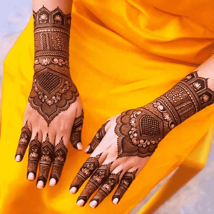Elegant Friends Henna Design