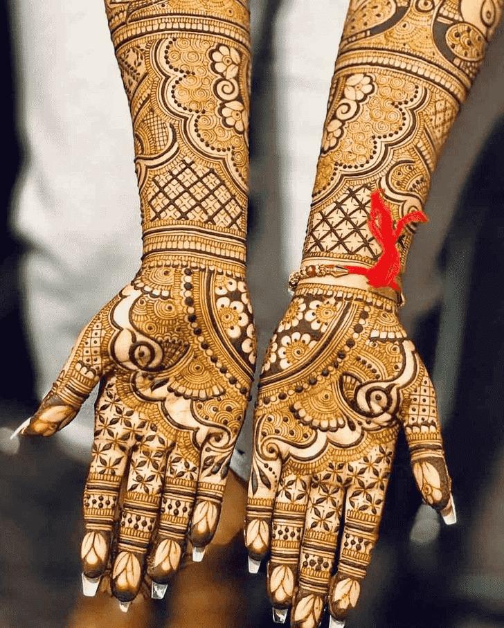 Enthralling Friends Henna Design