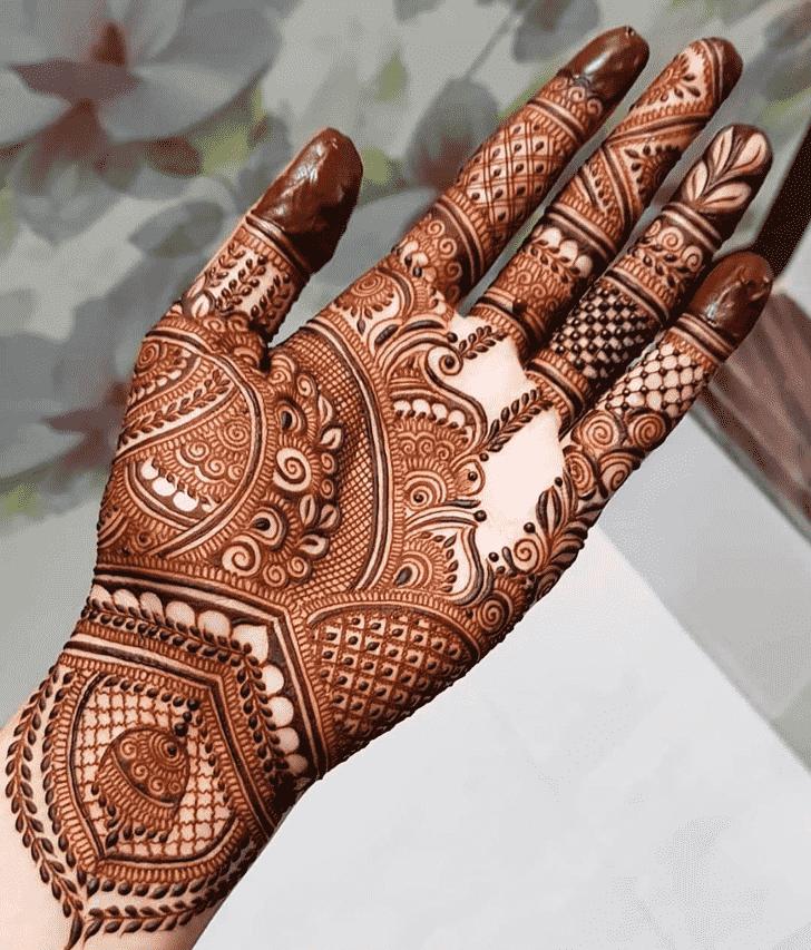 Exquisite Friends Henna Design