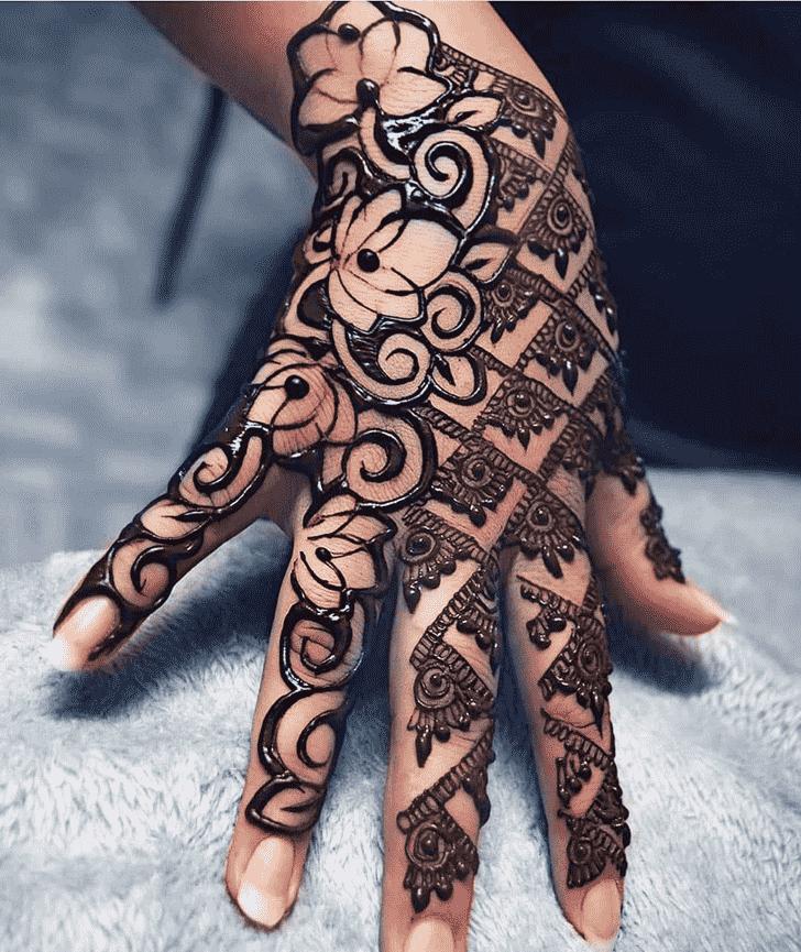 Fetching Friends Henna Design