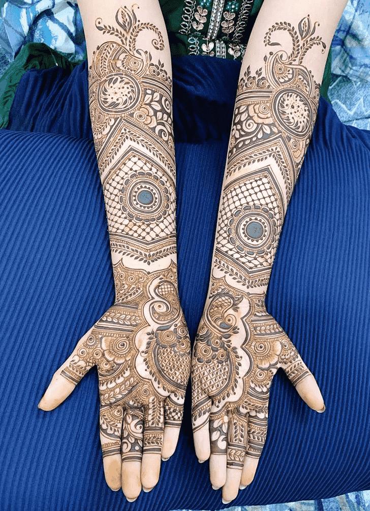 Gorgeous Friends Henna Design