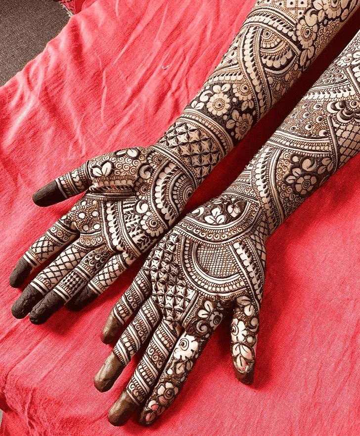 Graceful Friends Henna Design