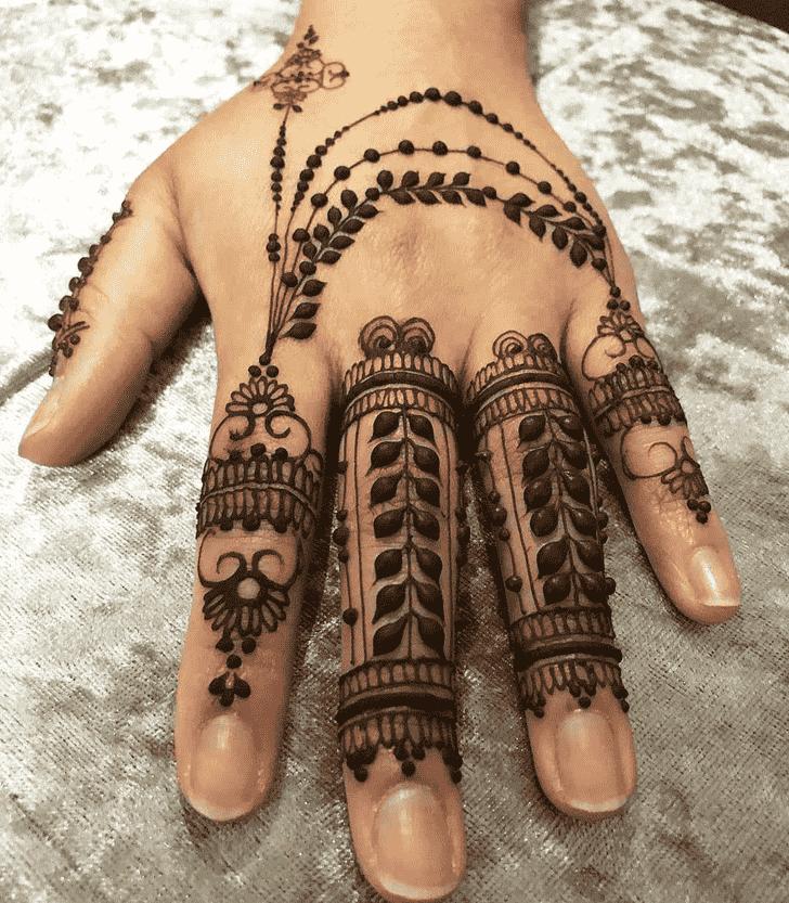 Grand Friends Henna Design