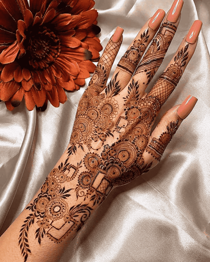 Awesome Friends Henna Design
