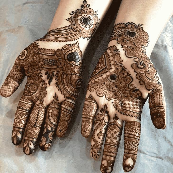 Radiant Friends Henna Design