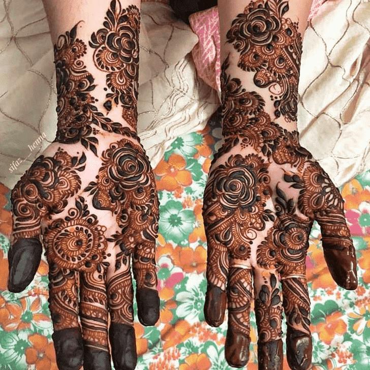 Ravishing Friends Henna Design