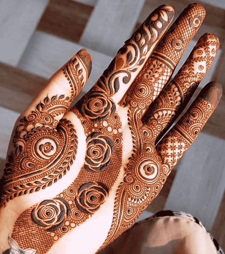 Refined Friends Henna Design