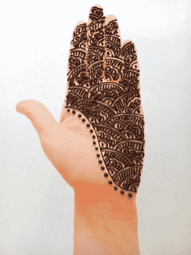 Gorgeous Front Hand Henna Design