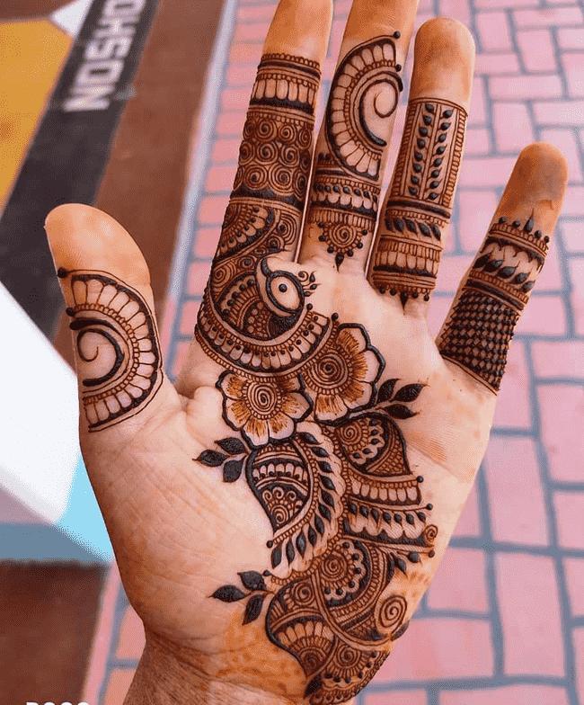 Adorable Gangtok Henna Design