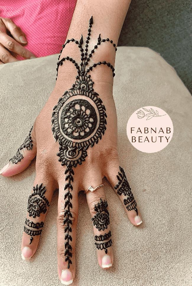 Alluring Gangtok Henna Design
