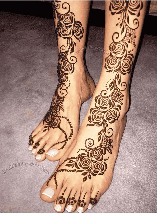 Angelic Gangtok Henna Design