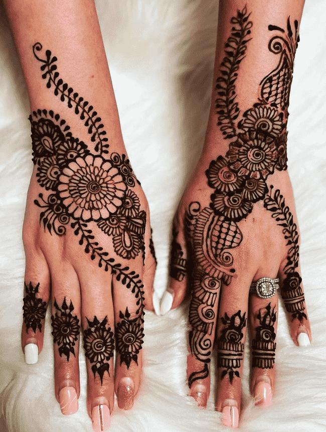 Appealing Gangtok Henna Design