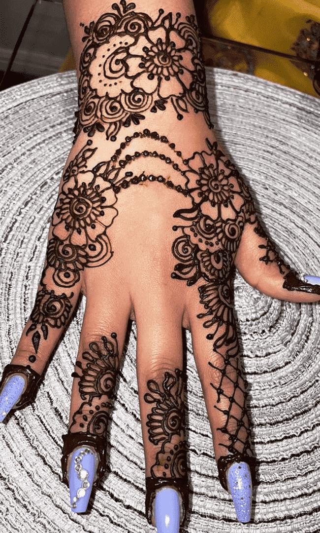 Beauteous Gangtok Henna Design