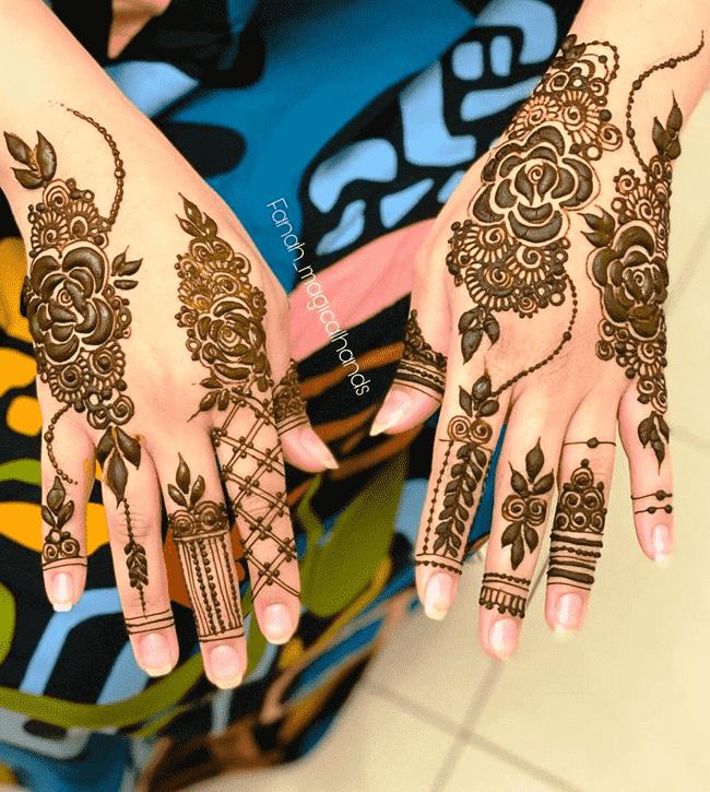 Bewitching Gangtok Henna Design
