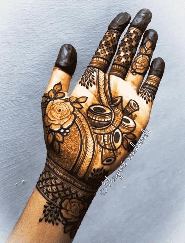 Captivating Gangtok Henna Design