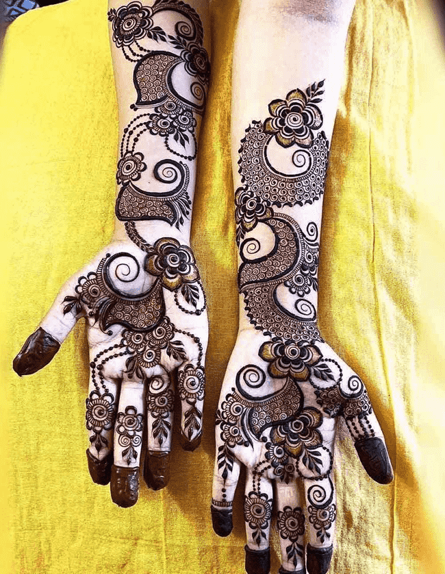 Charming Gangtok Henna Design