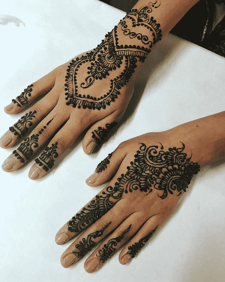 Alluring Gazipur Henna Design