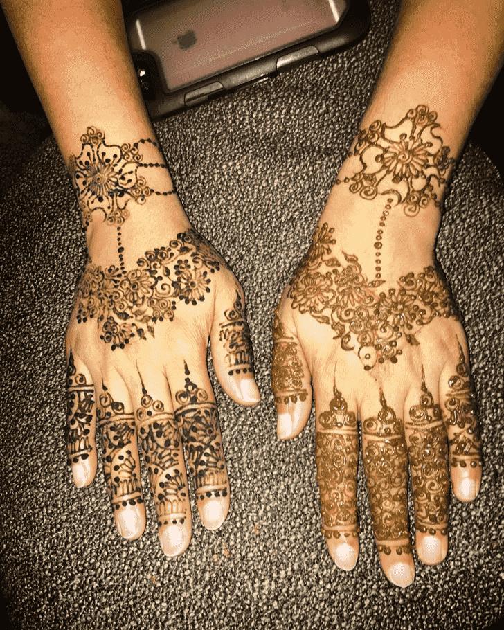 Angelic Gazipur Henna Design