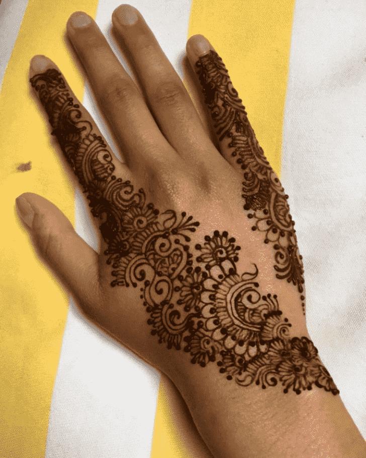 Appealing Gazipur Henna Design
