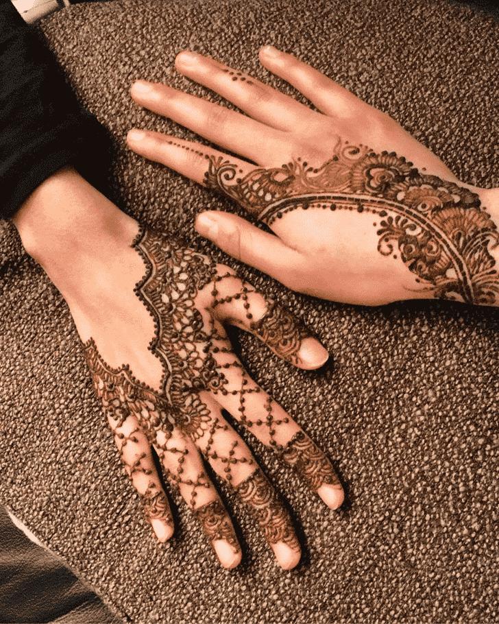 Captivating Gazipur Henna Design