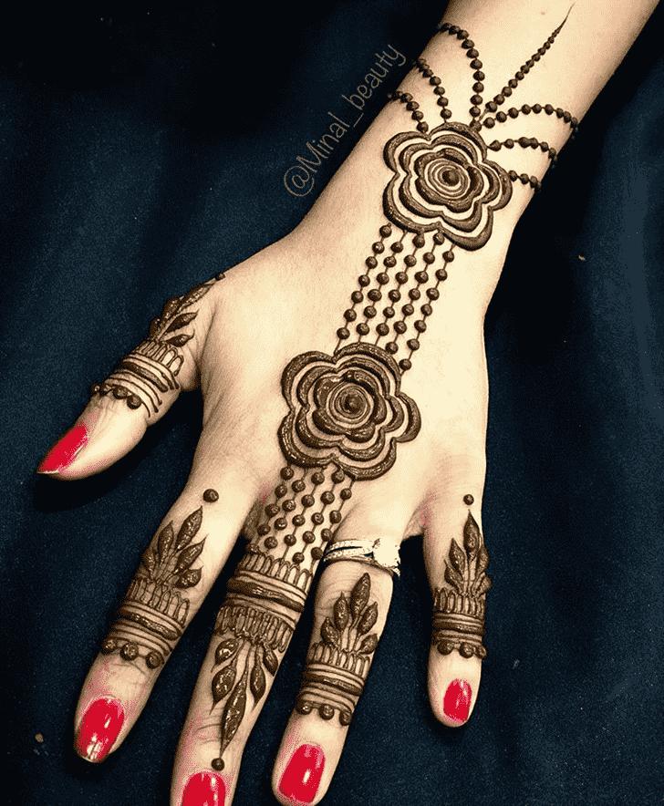 Adorable Georgia Henna Design