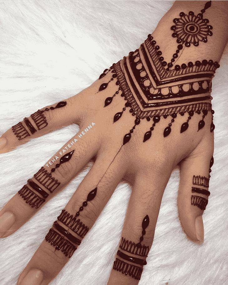 Alluring Georgia Henna Design