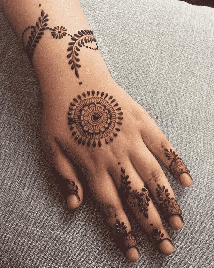 Appealing Georgia Henna Design