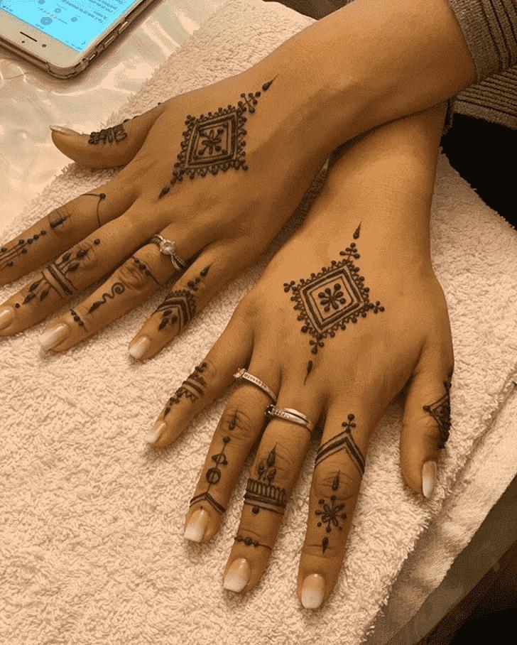 Beauteous Georgia Henna Design