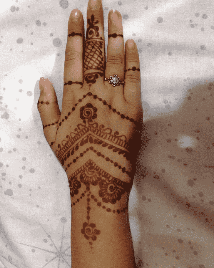 Captivating Georgia Henna Design