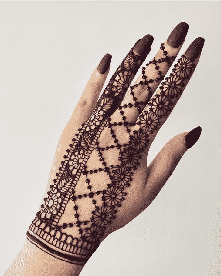 Classy Georgia Henna Design