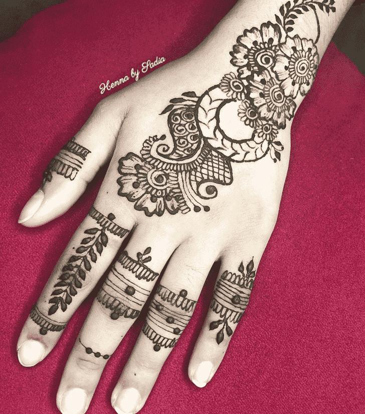 Beauteous Ghaziabad Henna Design