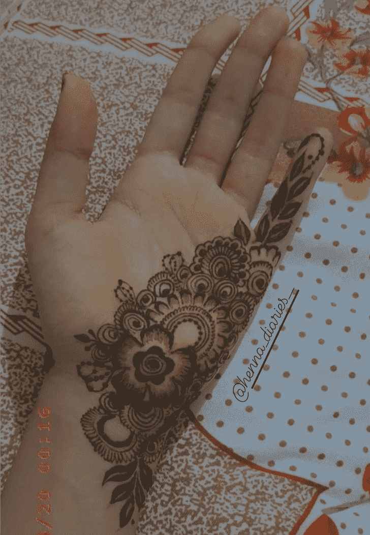 Captivating Ghaziabad Henna Design
