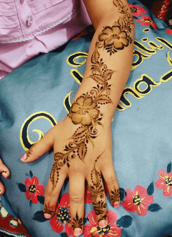 Charming Ghaziabad Henna Design