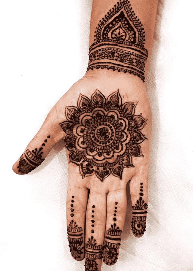 Alluring Ghazni Henna Design