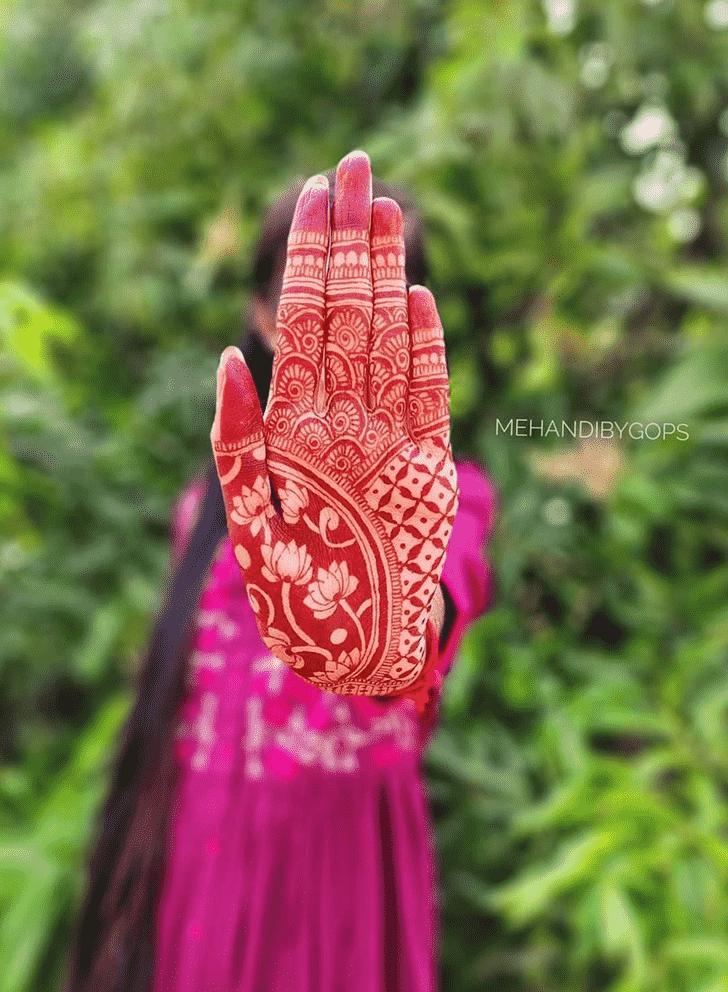 Angelic Girls Henna Design