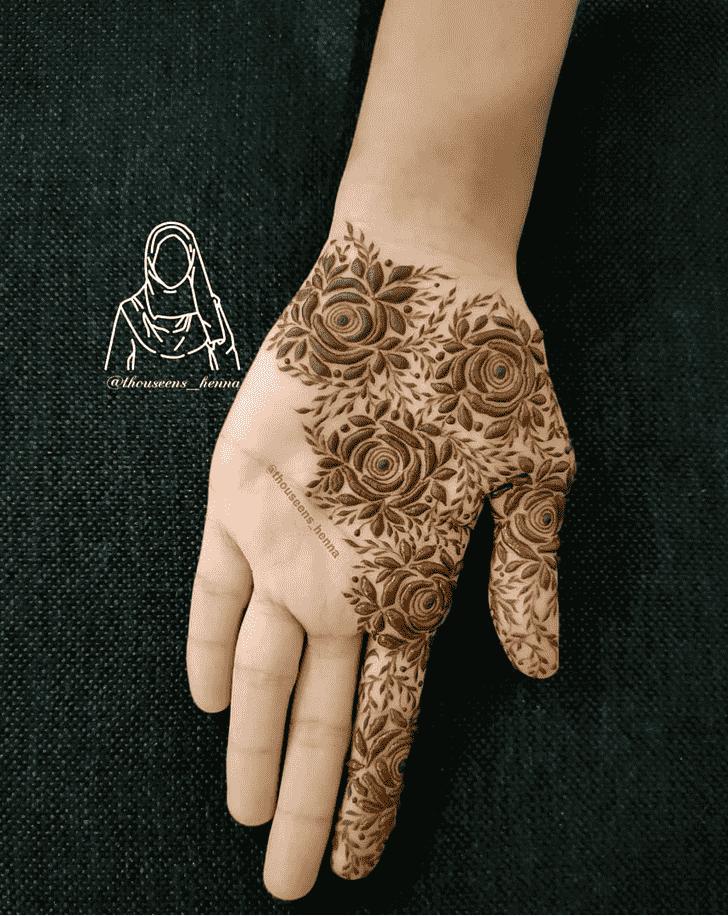 Charming Girls Henna Design