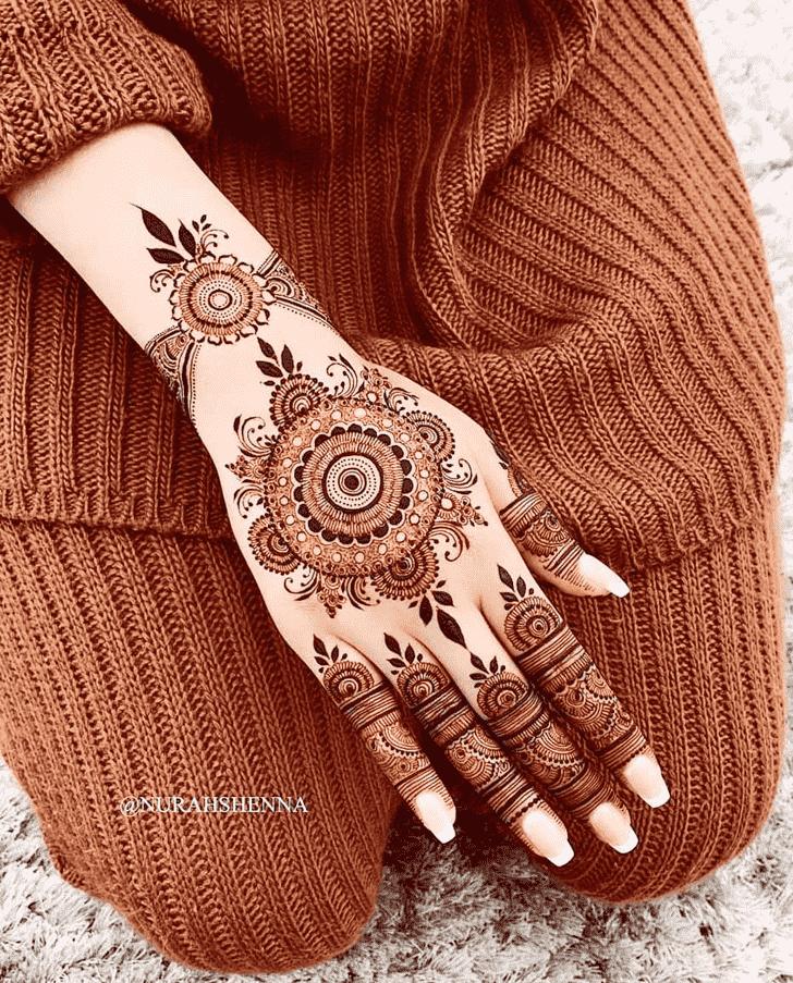 Angelic Goa Henna Design