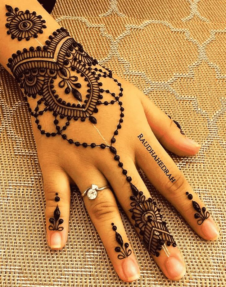 Appealing Goa Henna Design